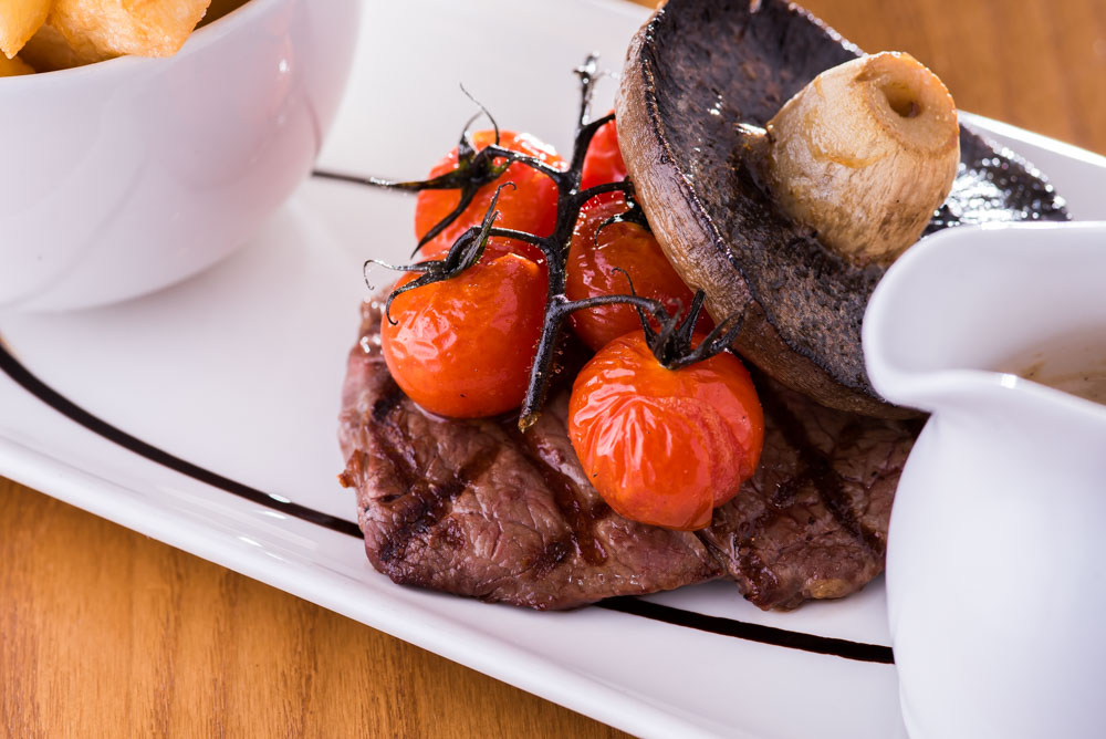 Introducing the Aberdeen Angus 8oz Sirloin Steak, our Head Chef's favourite dish