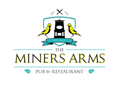 miners arms logo
